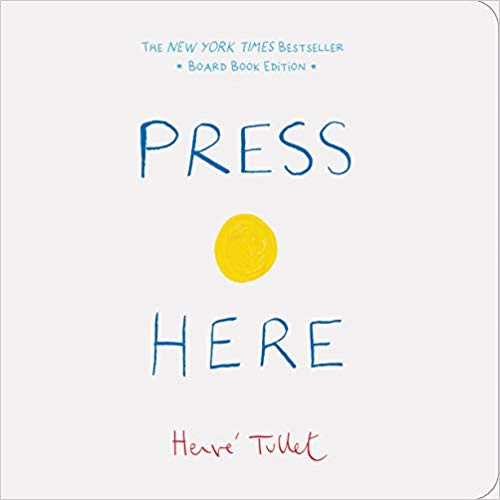 Press Here, Board Book Edition by Hervé Tullet