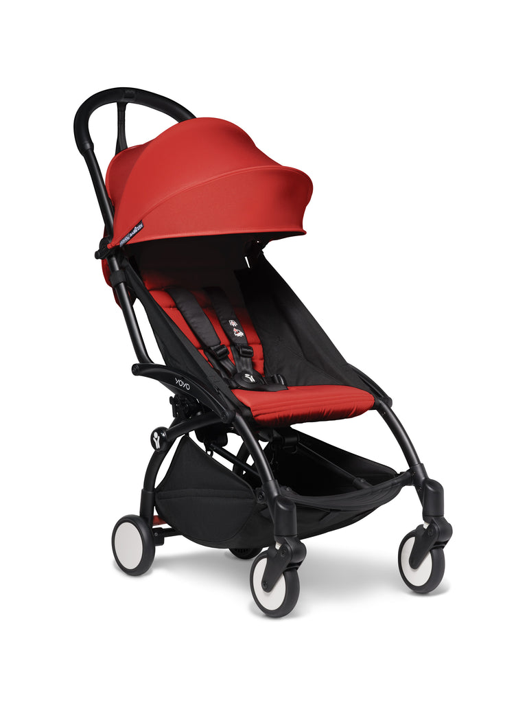 BABYZEN YOYO² Stroller - Red - Travel Pushchair - The Baby Service