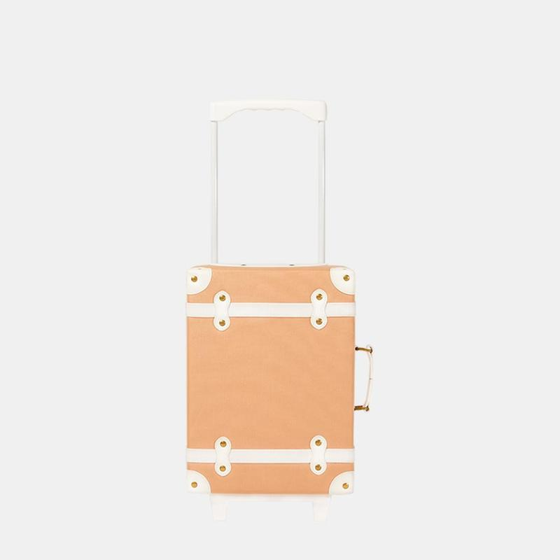 Olli Ella See-Ya Suitcase - Blush - The Baby Service