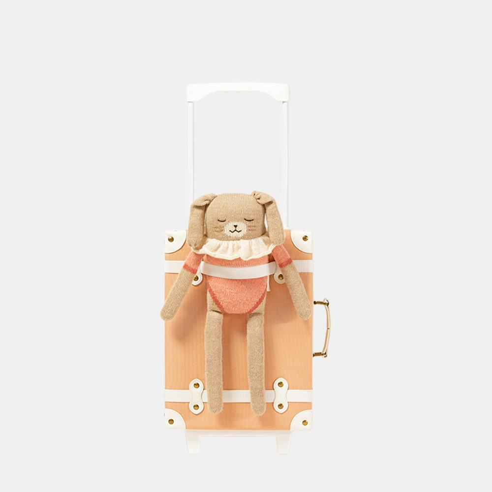 Olli Ella See-Ya Suitcase - Blush - Lifestyle - The Baby Service