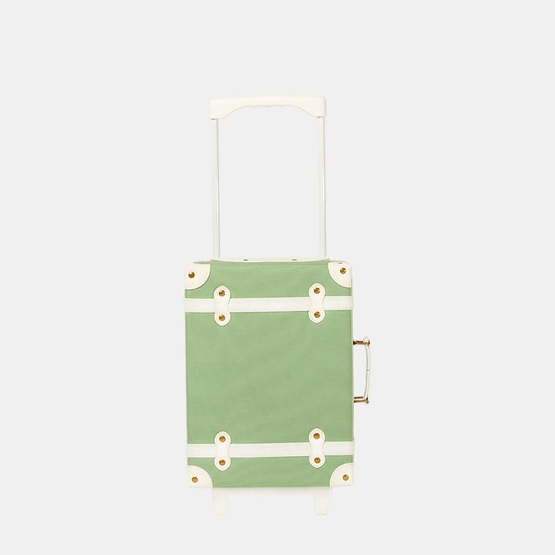 Olli Ella See-Ya Suitcase - Sage - Travel Gifts - The Baby Service