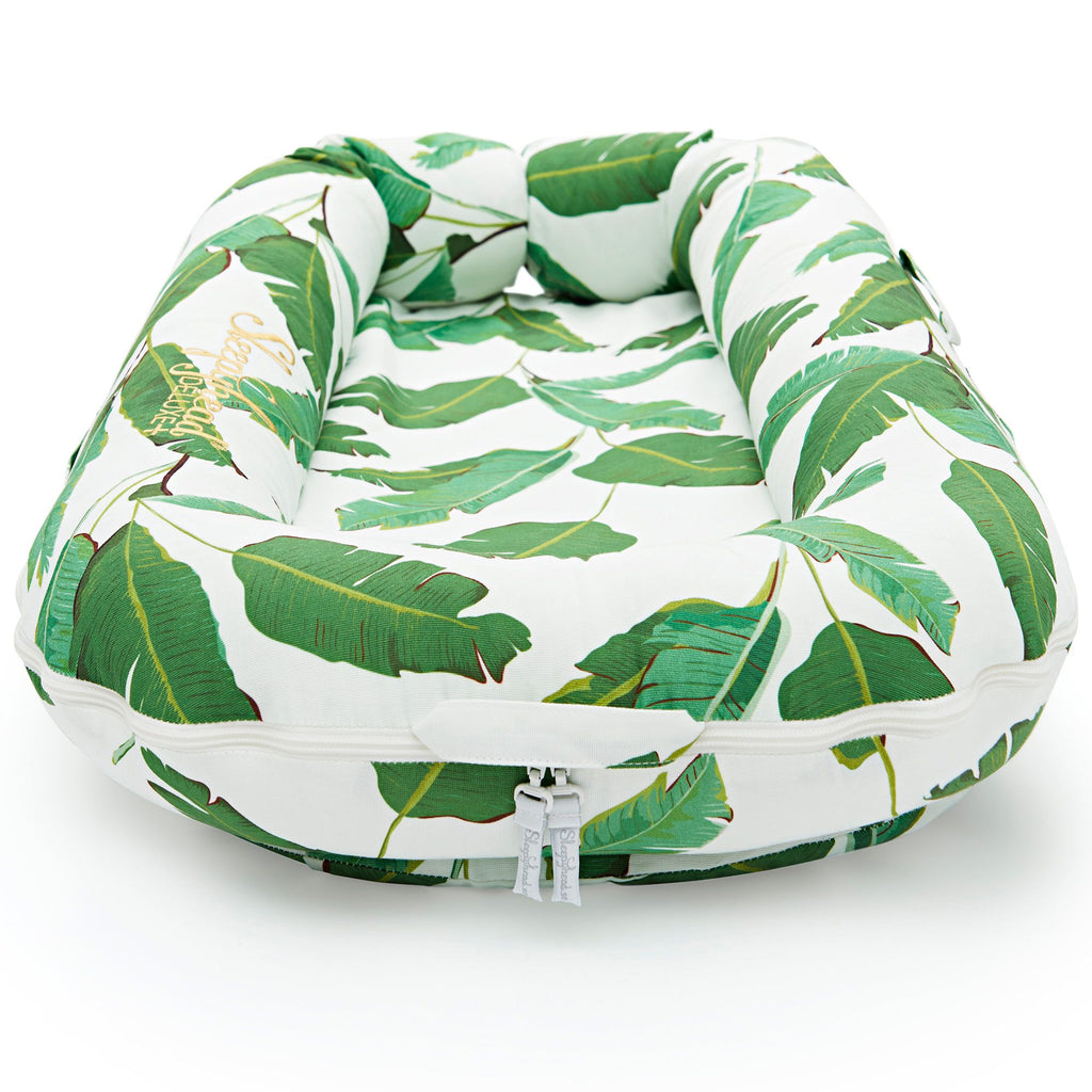 Sleepyhead Deluxe + Plus Pod Extra Cover in Bananas The Baby Service