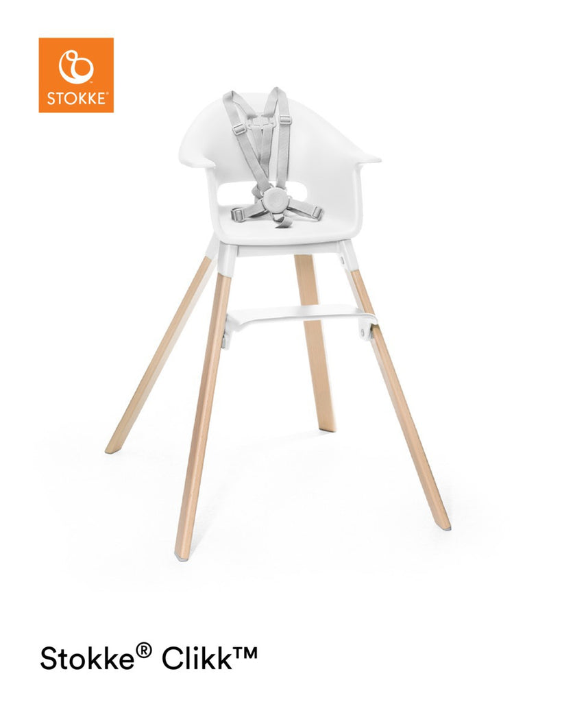 Stokke Clikk Highchair - White - The Baby Service