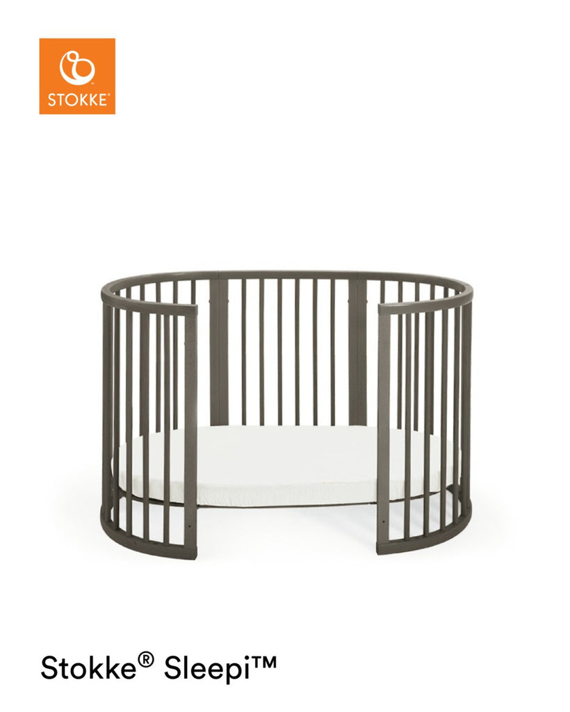 Stokke Sleepi Bed with Mattress - Hazy Grey - The Baby Service
