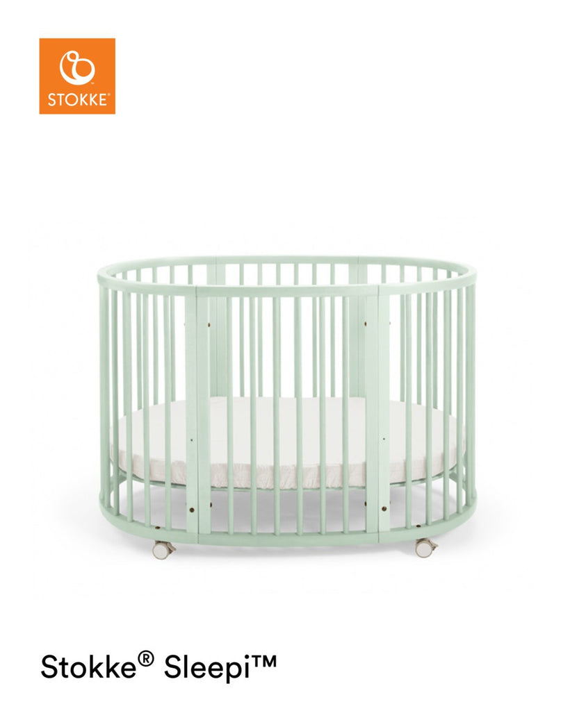 Stokke Sleepi Bed with Mattress - Mint - The Baby Service