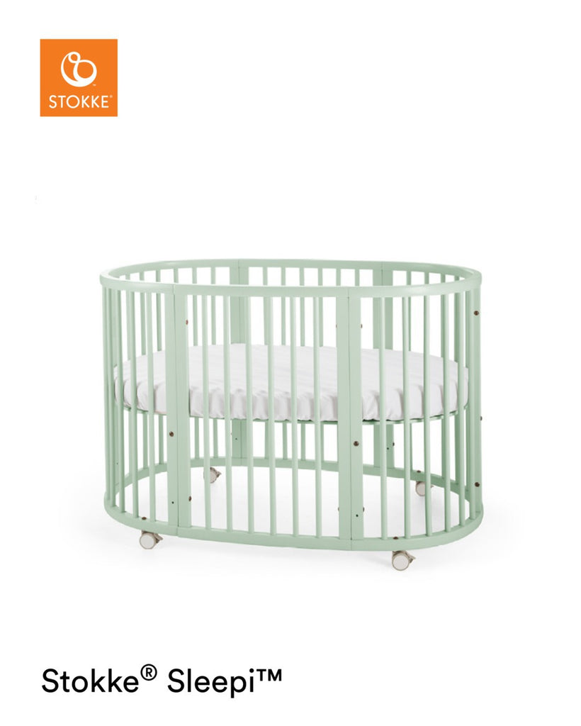 Stokke Sleepi Bed with Mattress - Mint - Cot - The Baby Service