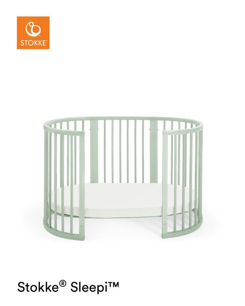 Stokke Sleepi Bed with Mattress - Mint - Crib - The Baby Service