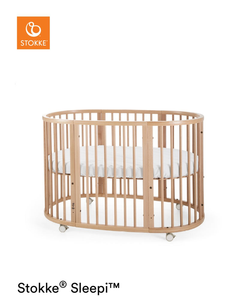 Stokke Sleepi Bed with Mattress - Natural - The Baby Service
