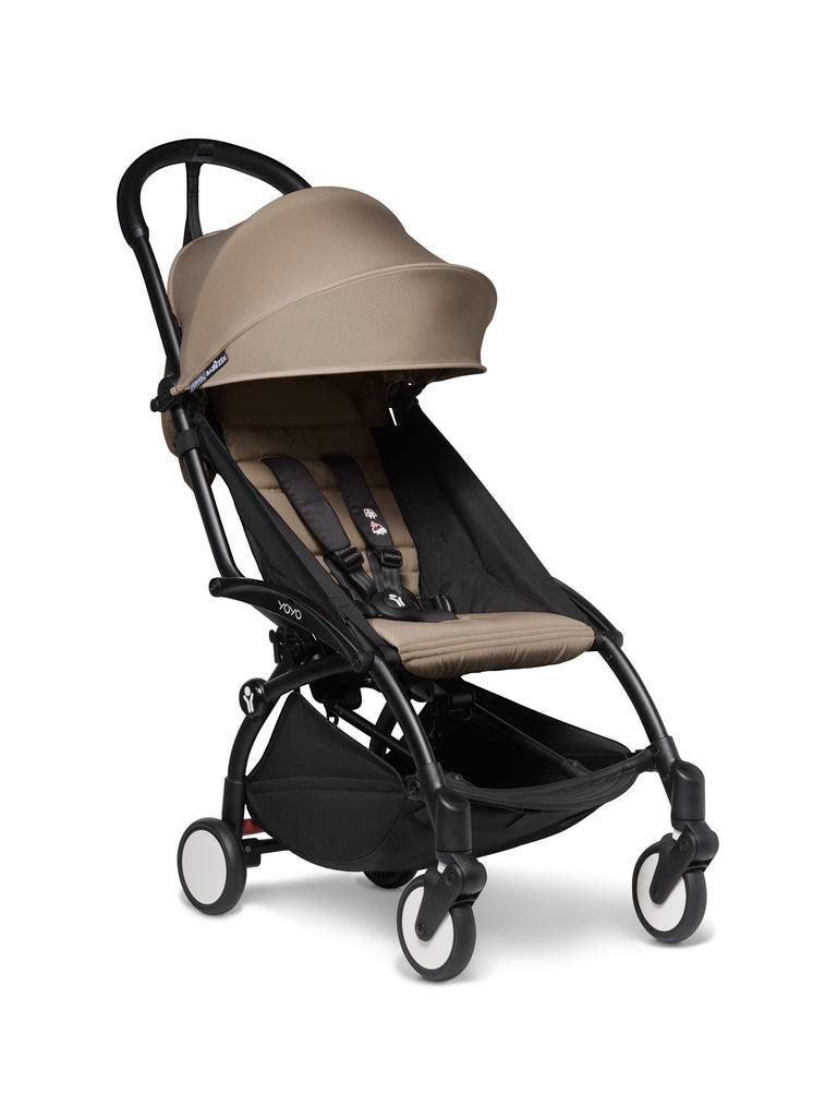 BABYZEN YOYO² Complete Stroller - Taupe - Travel Pushchair - The Baby Service