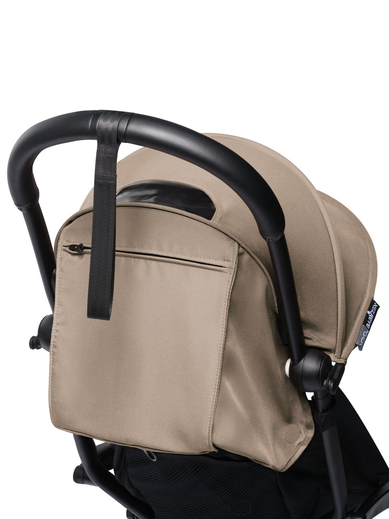 BABYZEN YOYO² Complete Stroller - Taupe - Shopping Bag - The Baby Service