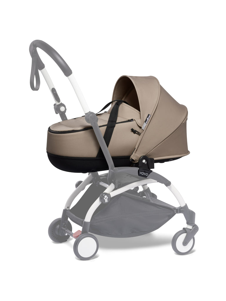 BABYZEN YOYO Bassinet - Taupe - The Baby Service