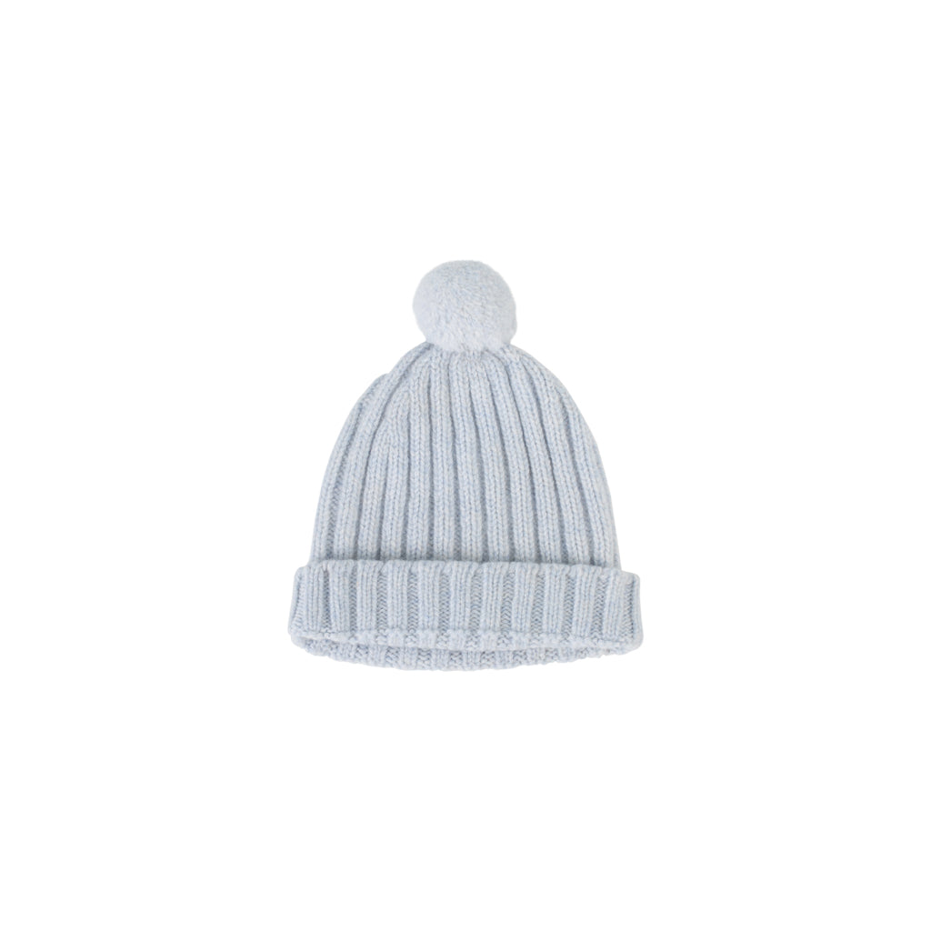 Wedoble - Pom Pom Hat Soft Blue