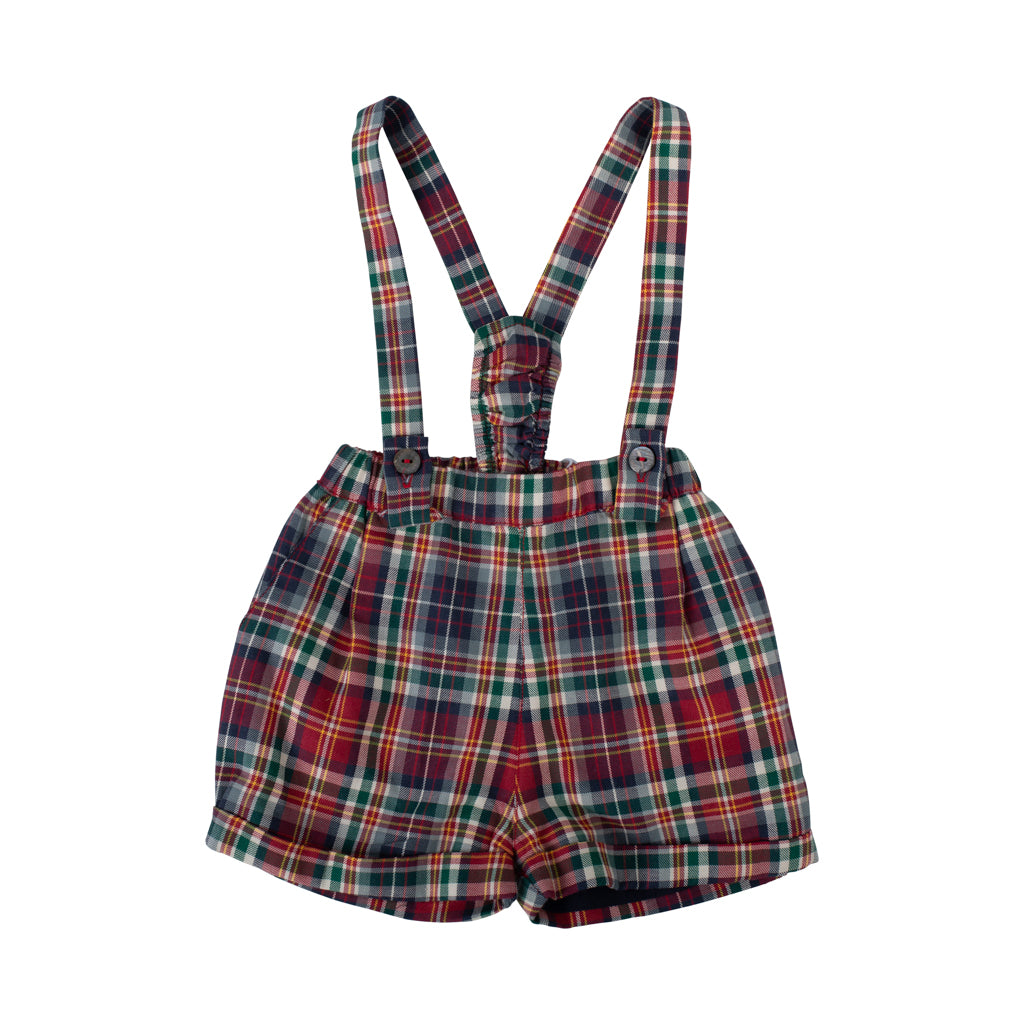 Wedoble - Red Check Baby Shorts