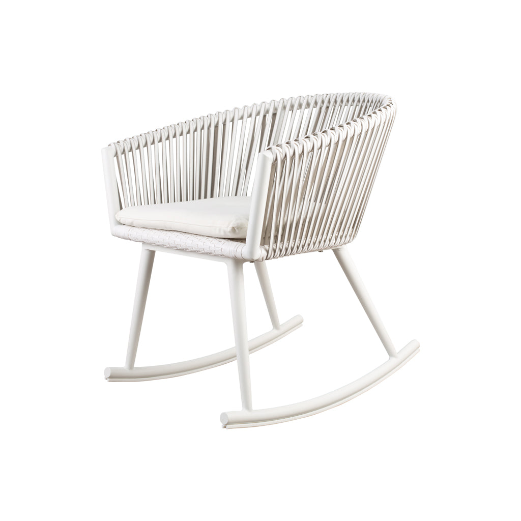 Woven Rocking Chair Nursing Feeding Baby - The Baby Service