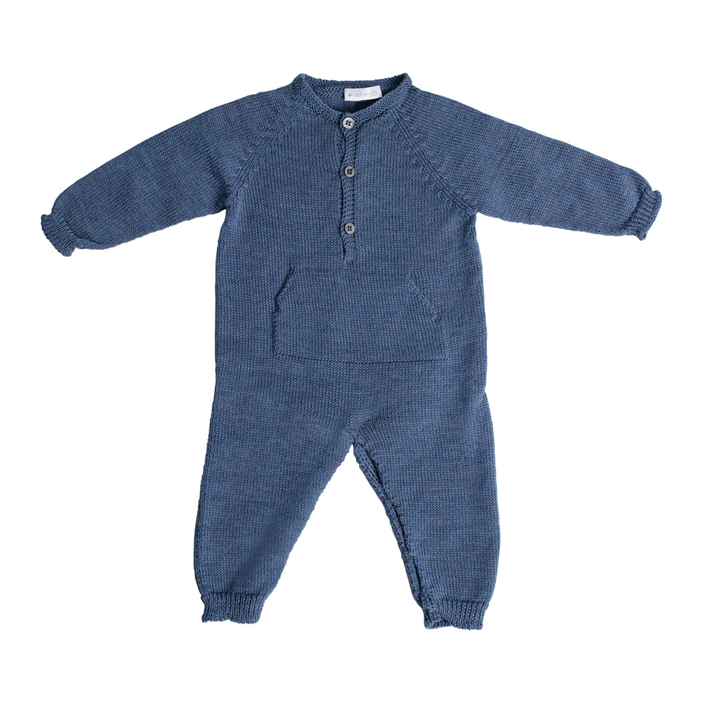 Wedoble - Knitted Romper Babygrow