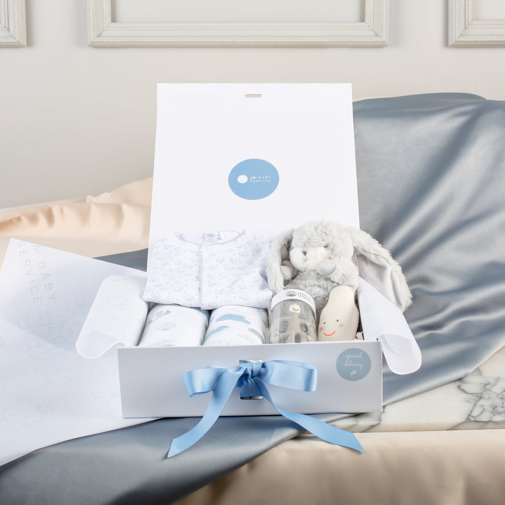 Newborn Medium Baby Boy Gift Set