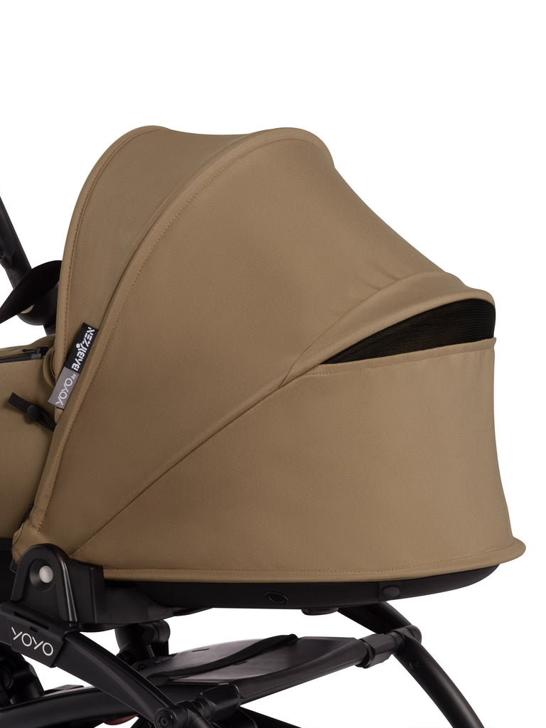 BABYZEN YOYO Bassinet - Toffee - The Baby Service - Travel Buggy