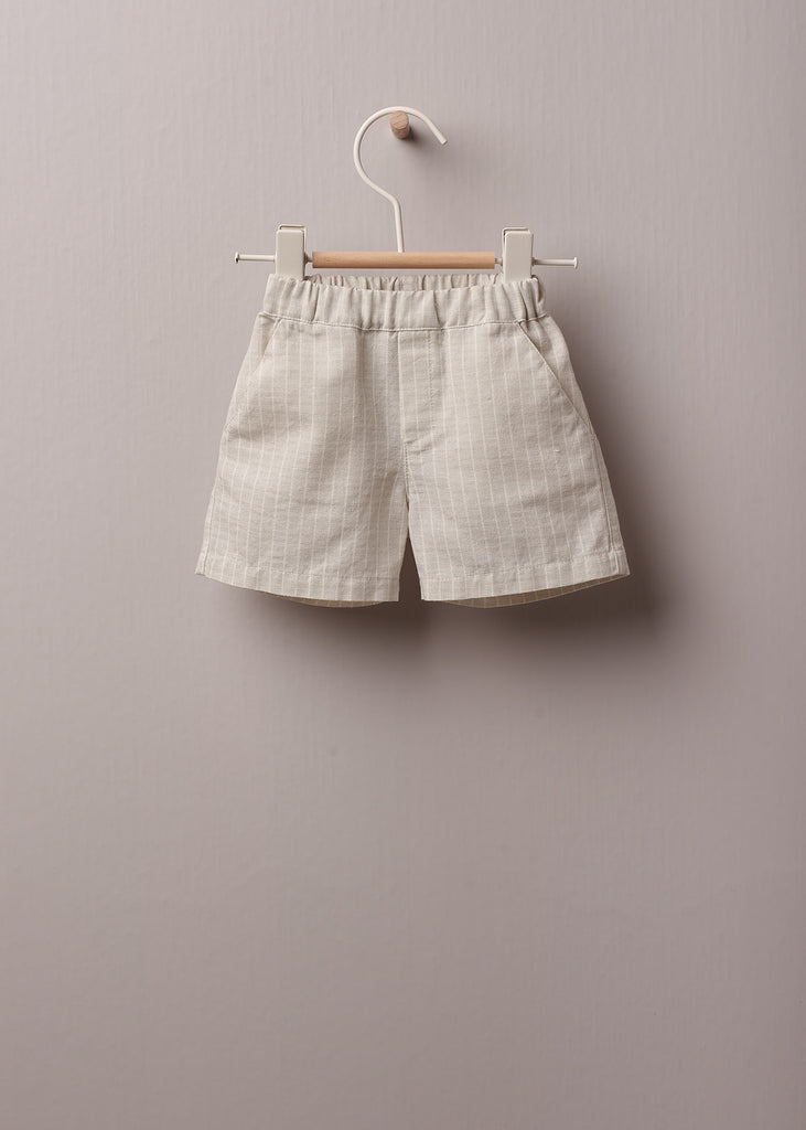 Wedoble - Blue Cotton Sweater & Cotton Shorts Set - The Baby Service