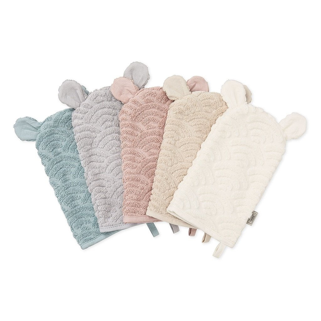 Cam Cam Copenhagen New Born Baby Bath Wash Mitt Glove Multiple
