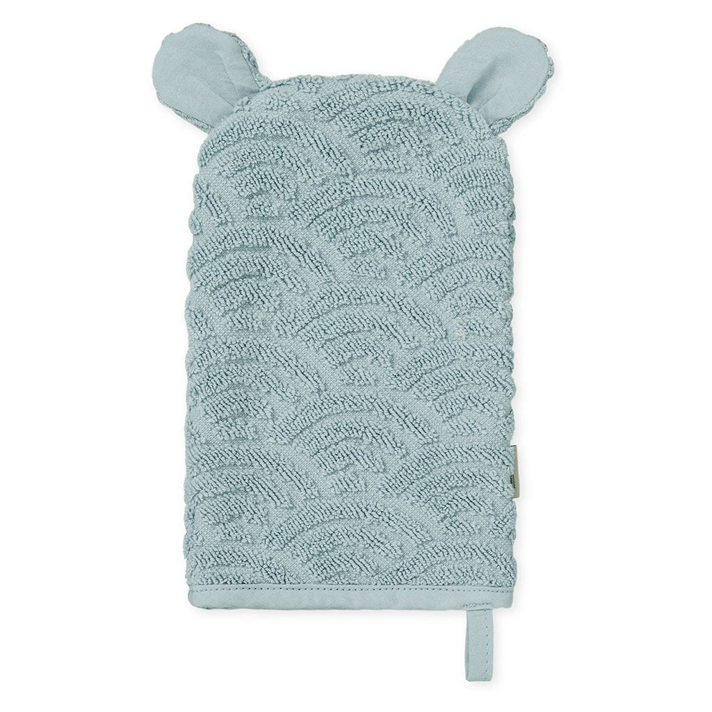 Cam Cam Copenhagen New Born Baby Bath Wash Mitt Glove Petroleum