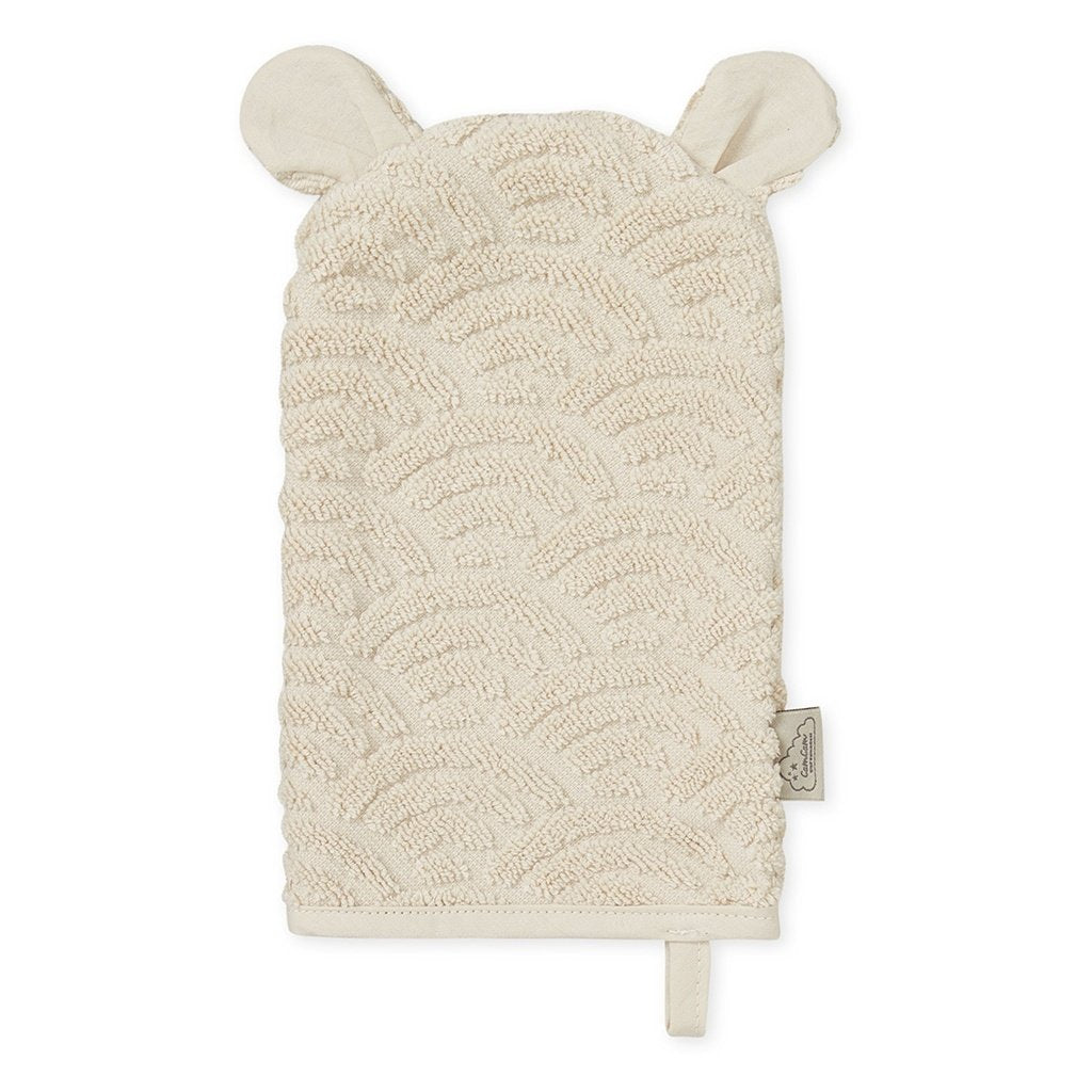 Cam Cam Copenhagen New Born Baby Bath Wash Glove in Sand