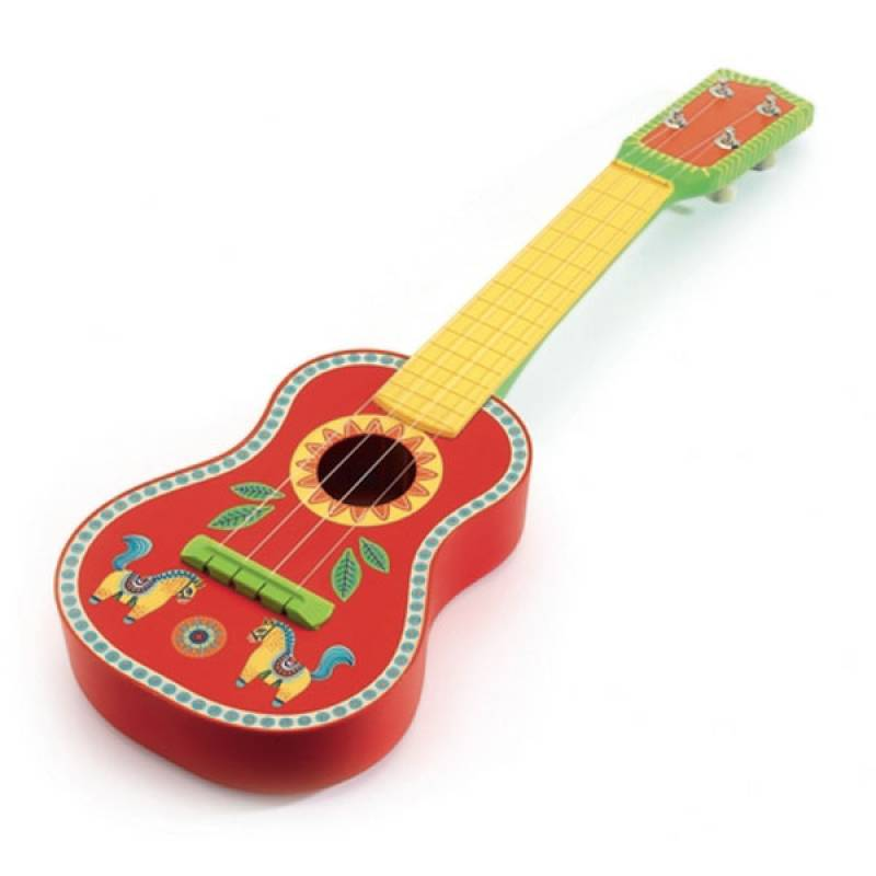 Djeco Animambo Ukulele Musical Guitar The Baby Service