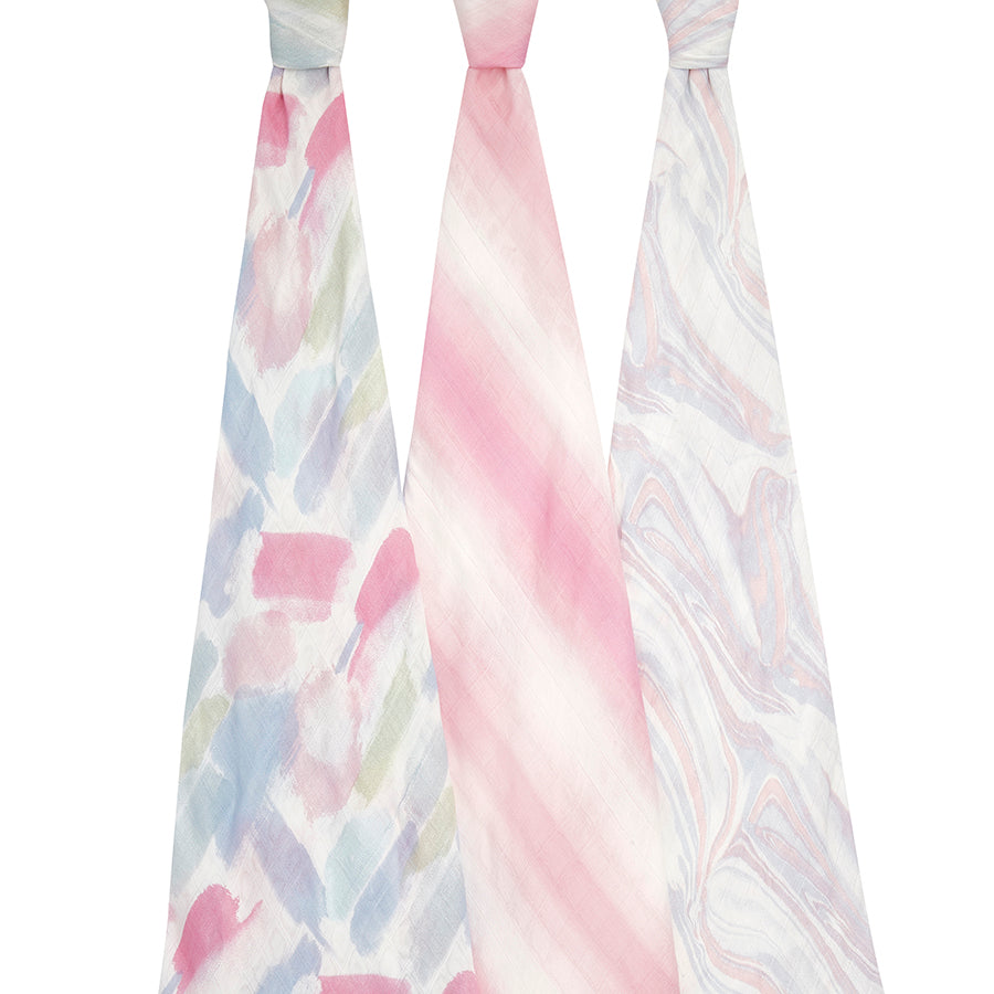 Aden + Anais Florentine Silky Soft Swaddles 3 Pack - Gifts - The Baby Service