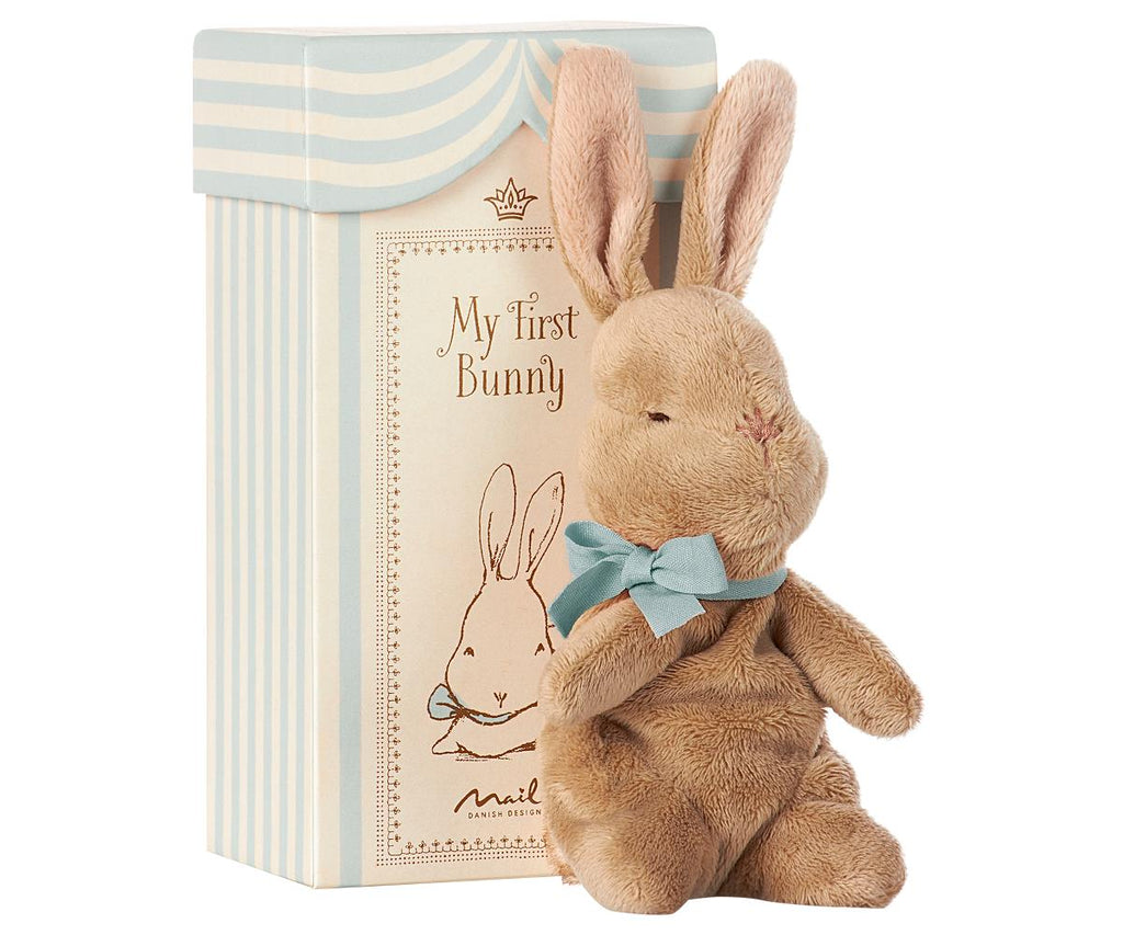 Maileg My First Bunny Blue - Luxury Soft Toys