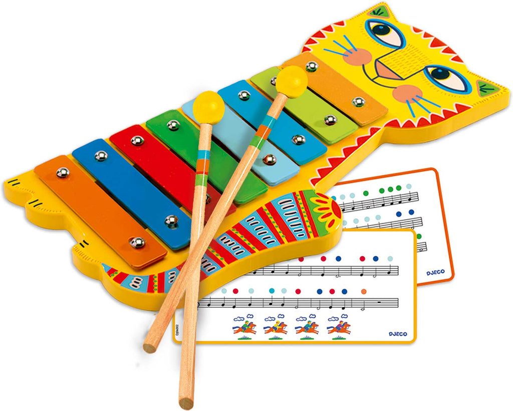 Djeco Animambo Metallophone - Musical Instruments The Baby Service