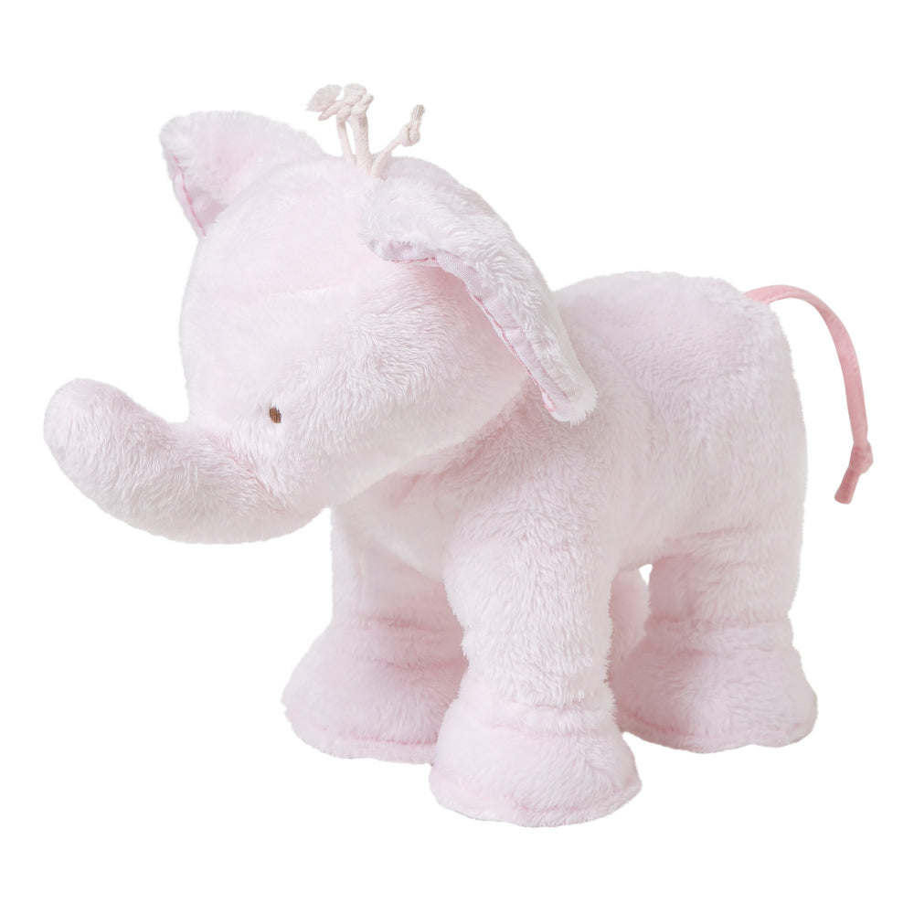 Tartine Et Chocolat - Ferdinand The Elephant in Rose 25cm - Luxury Soft Toys -