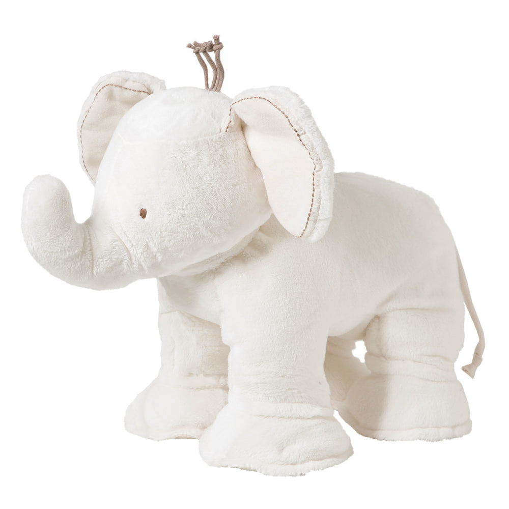 Tartine Et Chocolat - Ferdinand The Elephant in White 25cm - The Baby Service