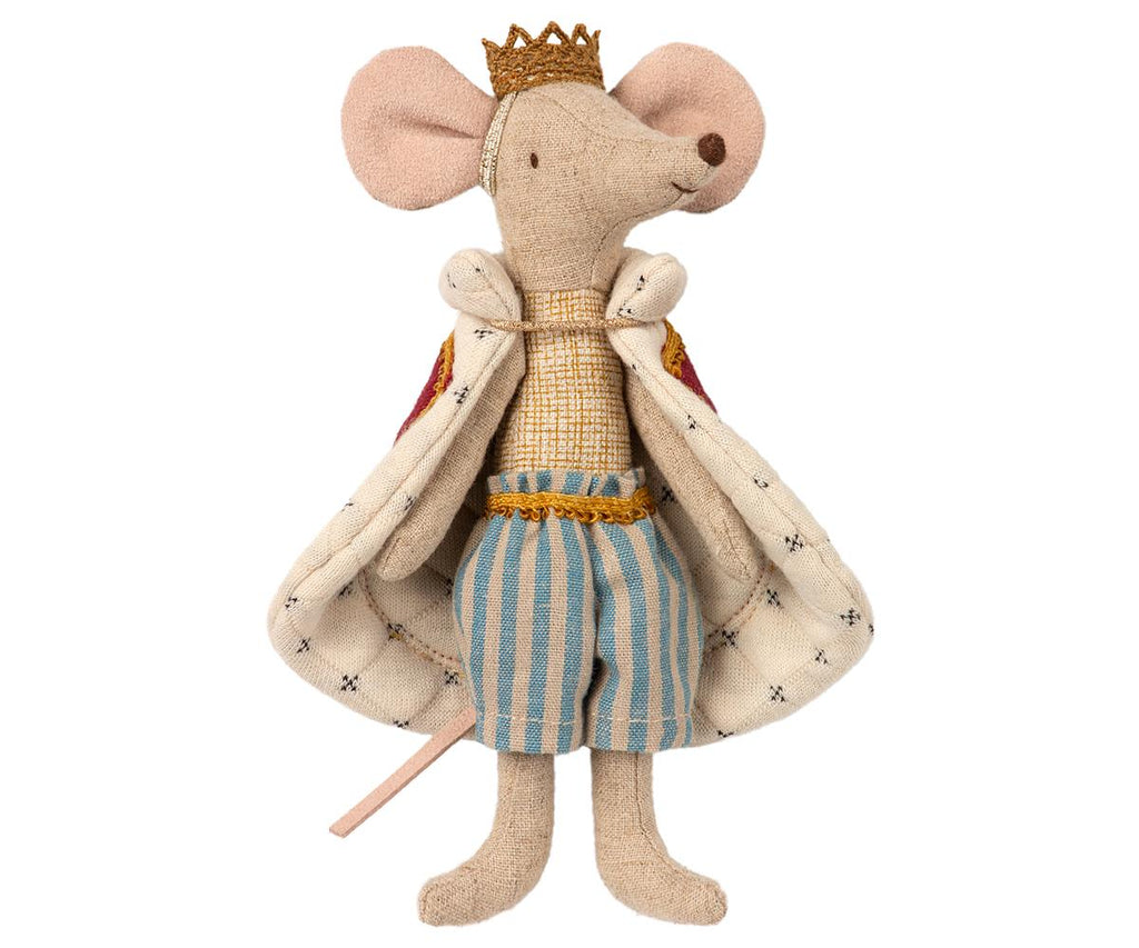 Maileg King Mouse Luxury Children's Soft Toys & Gifts