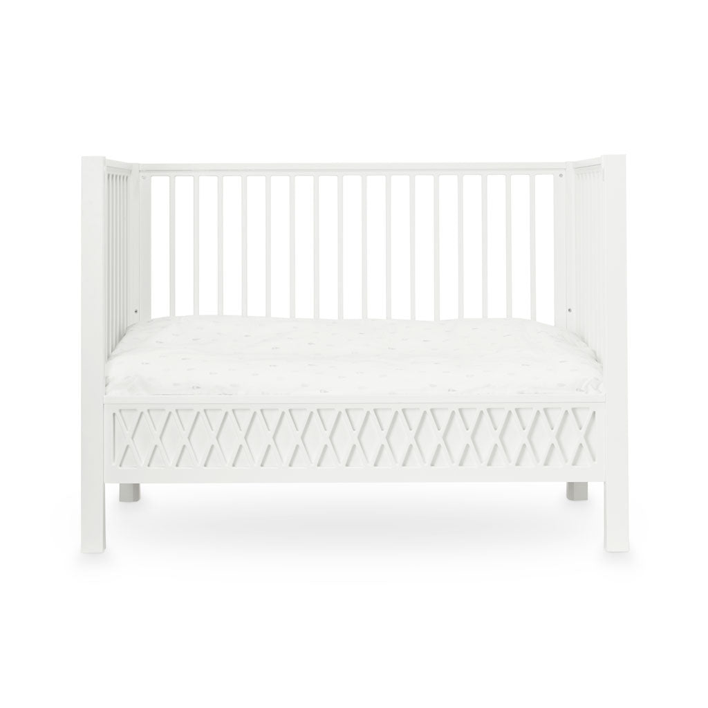 Cam Cam Copenhagen Harlequin Baby Bed White - Toddler - The Baby Service