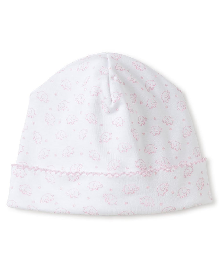 Kissy Kissy Ele-fun Print Hat Pink - The Baby Service