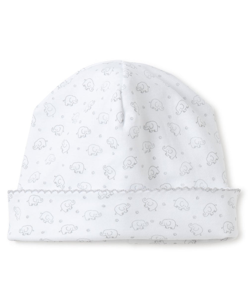 Kissy Kissy Ele-fun Print Hat Silver - The Baby Service