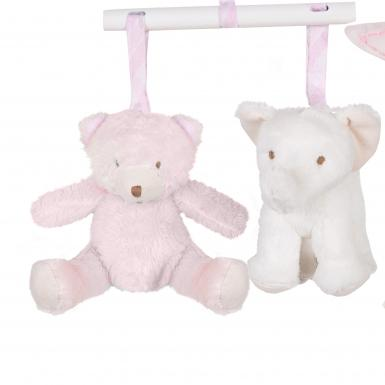 Tartine et Chocolat Pink Musical Mobile Luxury Baby Gifts