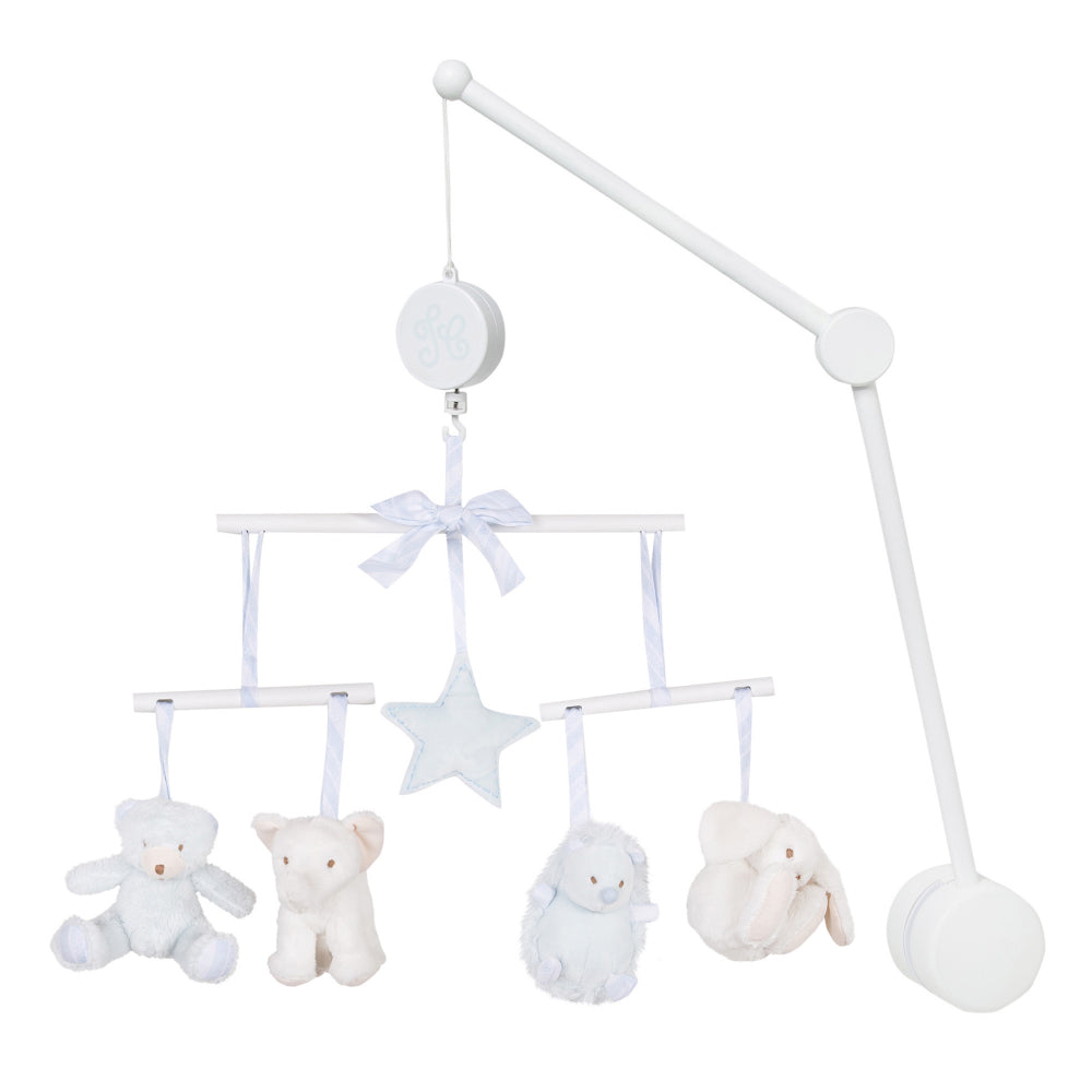 Tartine et Chocolat Blue Musical Mobile - Baby Gift  - The Baby Service