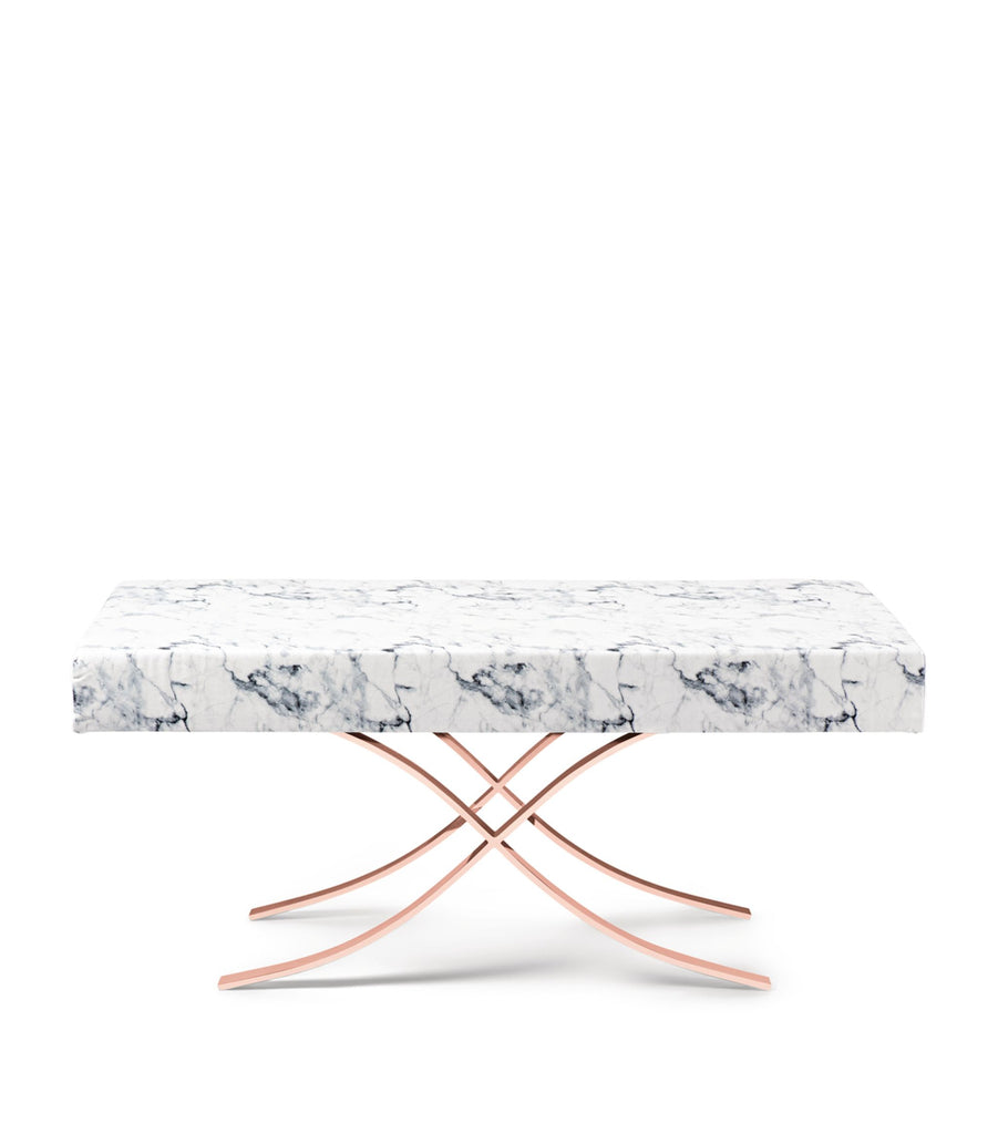 Sleepyhead Aristot Rectangular Ottoman - Carrara Marble - The Baby Service