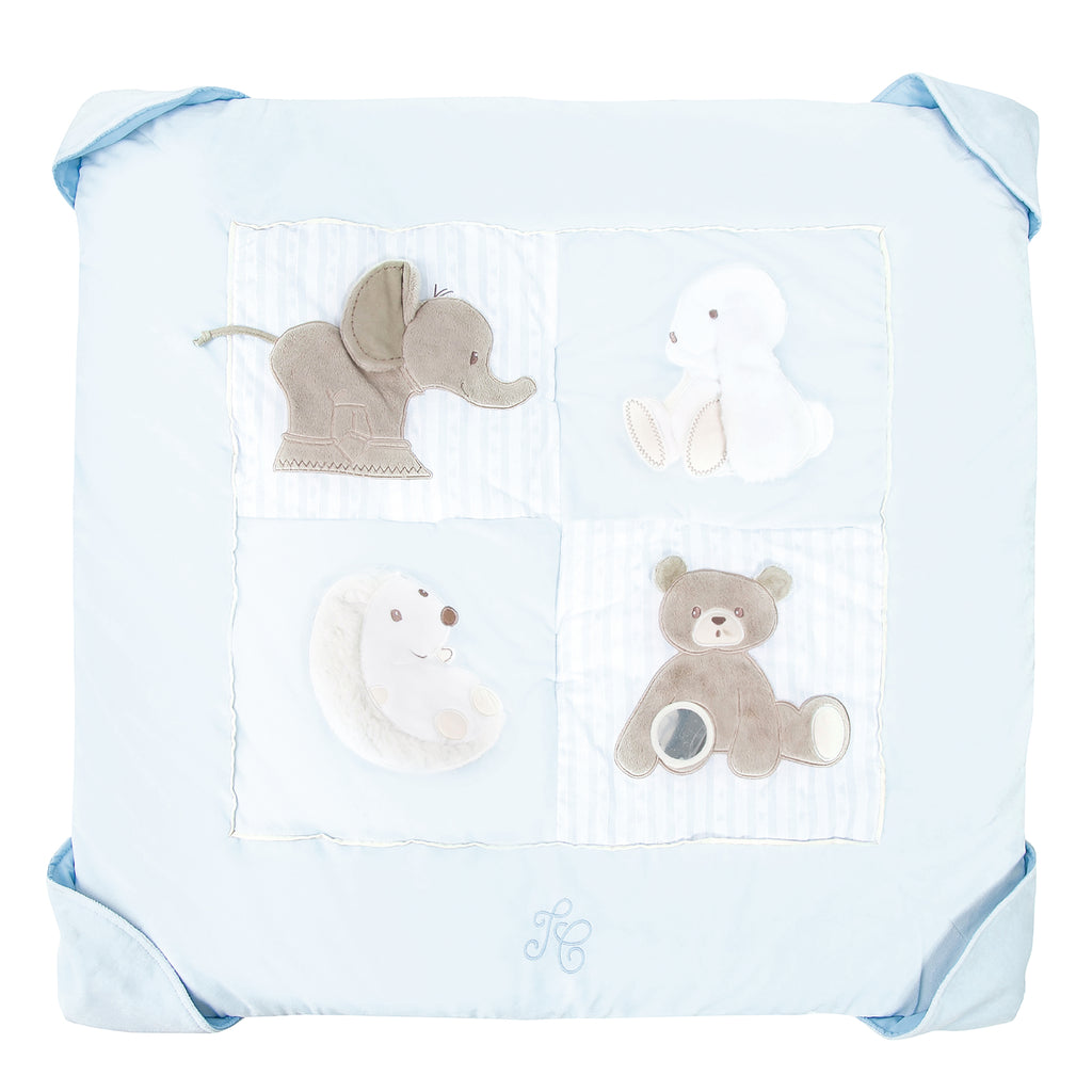 Soft Tartine et Chocolat Blue Baby Playmat