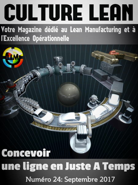 Magazine Culture Lean Prémium 24, Conception d'une ligne de production en JAT