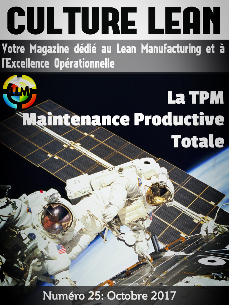Magazine Culture Lean Prémium 25, la Maintenance Productive Totale ou TPM