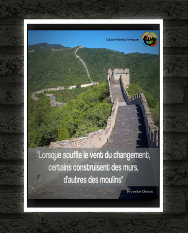 Poster proverbe Chinois