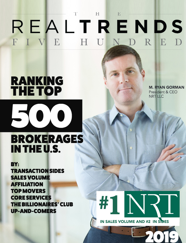 REAL Trends 500 Brokerage Ranking Report With Custom Cover