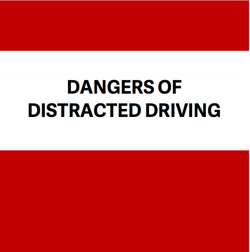 Distracted Driving eBook