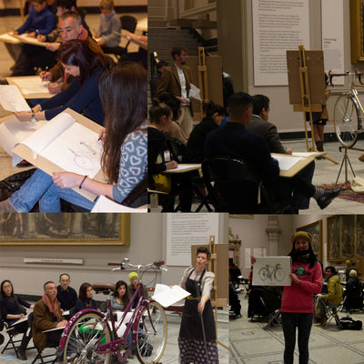 V&A Bicycle Drawing Studio