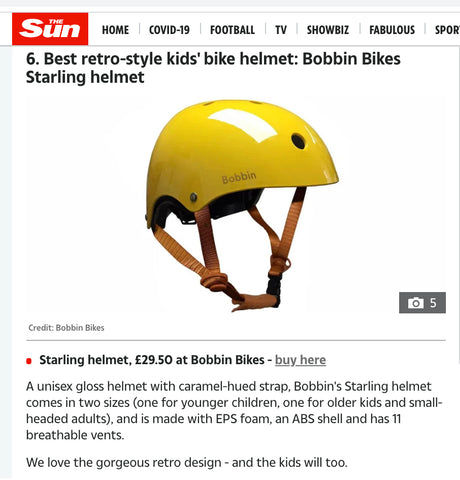 Our Starling Helmet in The Sun