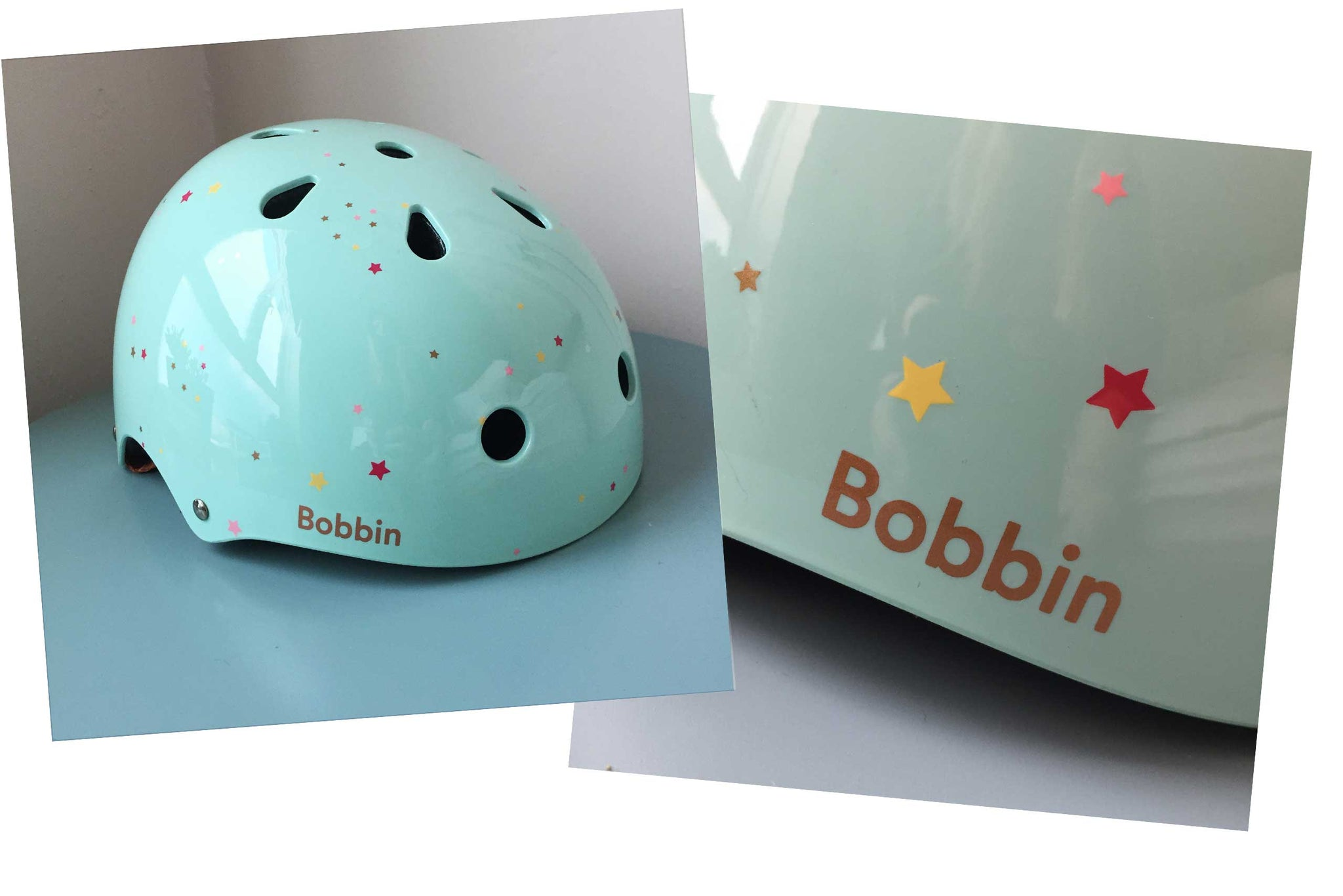 Starling Helmet Green with Multi Stars