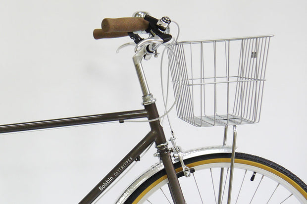 Steel Front Basket (silver or black)
