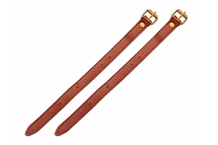 Vegan leather basket straps (pair)