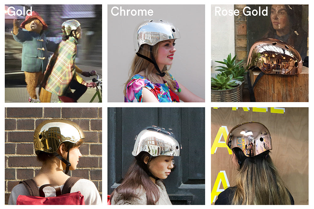 Mirror Mirror Helmet Rose Gold